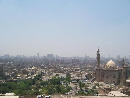 Гледка към столицата на Египет