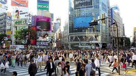 Тълпа в Токио