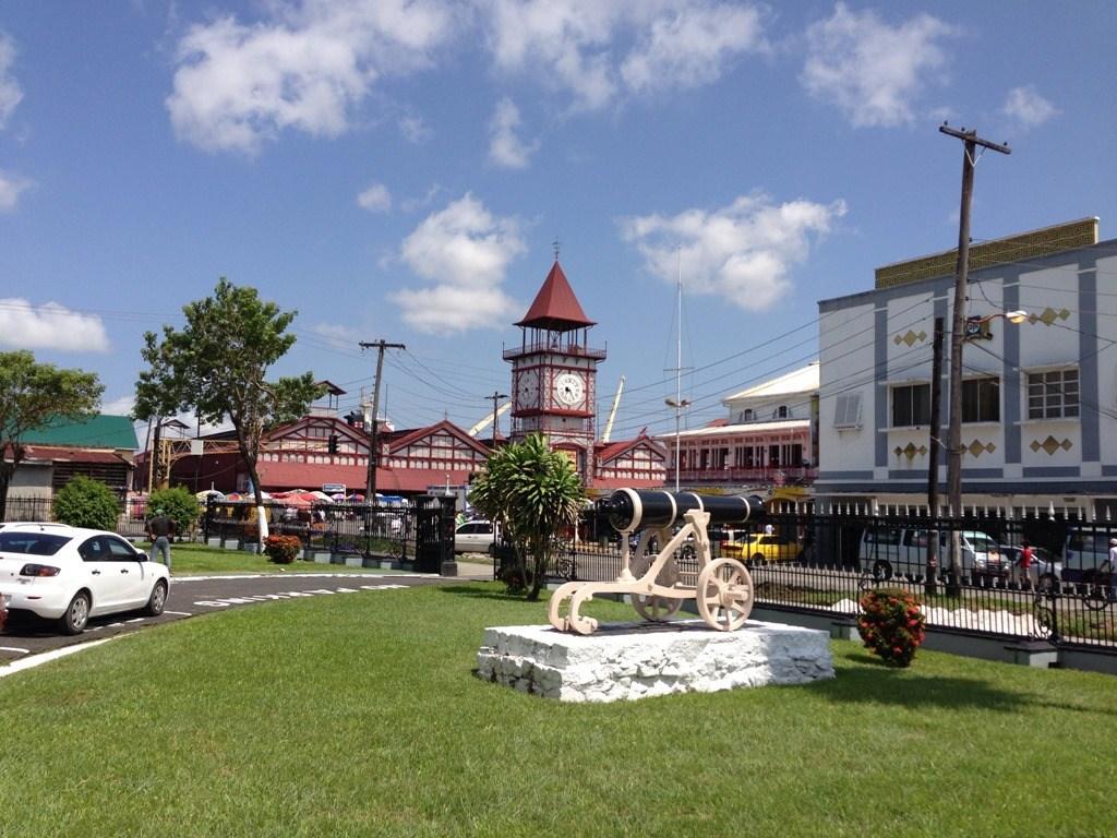 Джорджтаун - столицата на Гвиана
