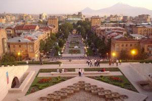 Ереван - столицата на Армения