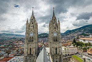 Кито - столицата на Еквадор