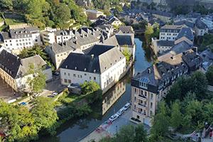 Люксембург - столицата на Люксембург