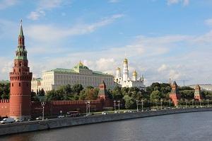 Моксва столицата на Русия