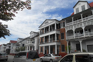 Парамарибо - столицата на Суринам