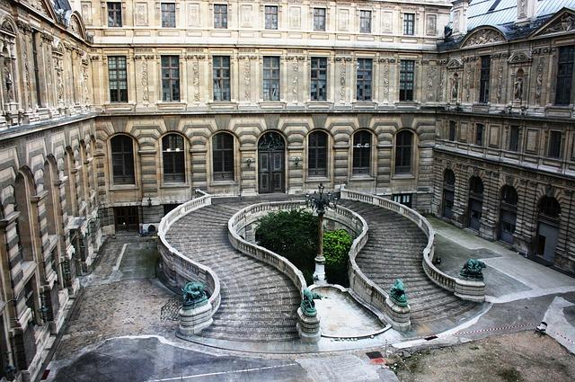 Париж Лувър