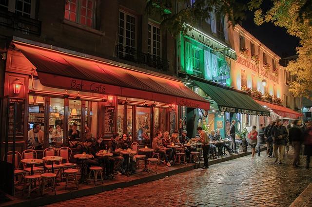 В Париж на кафе