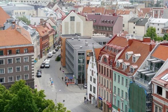 Рига - столицата на Латвия