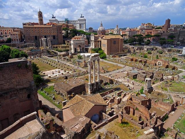 Развалини в Рим