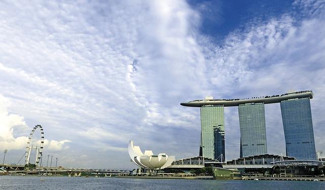 Сингапур Марина бей