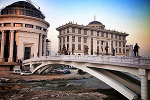 Скопие - столицата на Македония