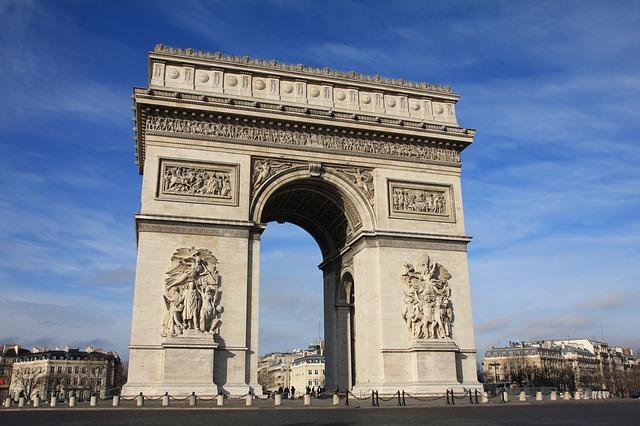 Триумфалната арка информация за Париж