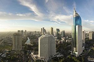 Джакарта - столицата на Индонезия