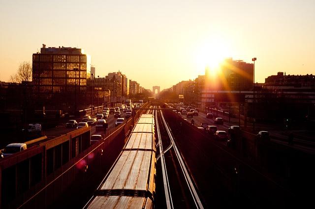 Влак в Париж