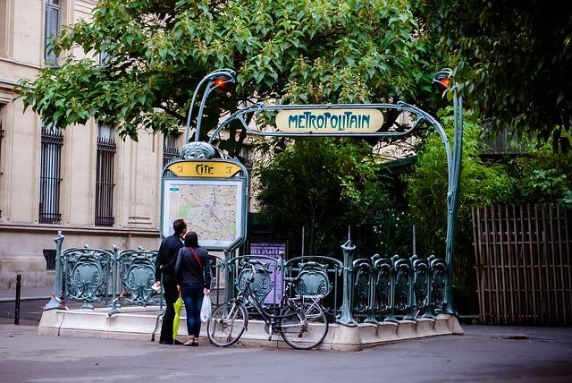 Метро в Париж