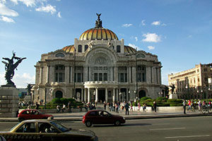 Меkсико сити - столицата на Мексико