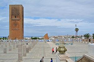 Столицата на Мароко Рабат