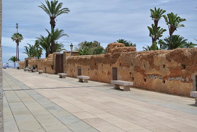 Стена в столицата на Мароко Рабат