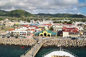 Бастер - столицата на Сейнт Китс и Невис