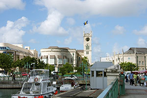 Бриджтаун - столицата на Барбадос