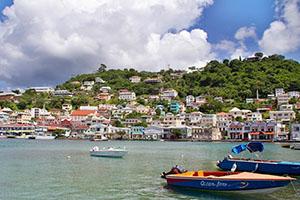 Сейнт Джорджис - столицата на Гренада