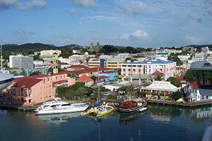 Сейнт Джонс - столицата на Антигуа и Барбуда