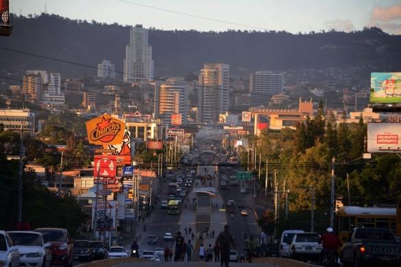 Тегусигалпа - столицата на Хондурас