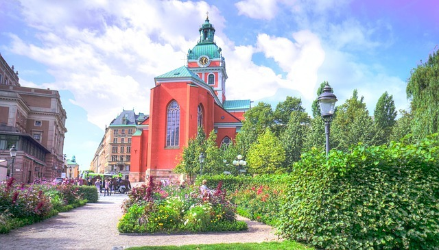 Гамла Стан стар град Стокхолм