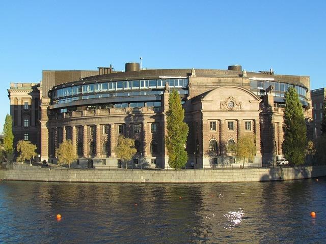 Кралският дворец Стокхолм забележителност