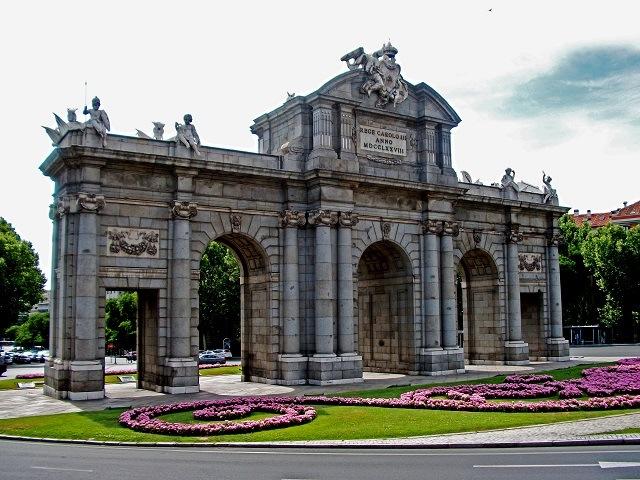 Портата Алкала Мадрид
