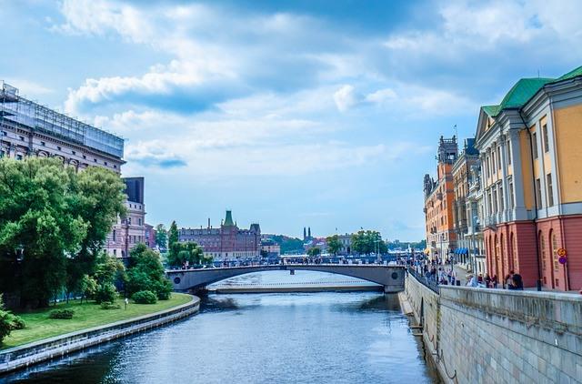 Разходка с корабче в Стокхолм