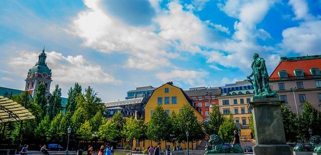 Цветни сгради