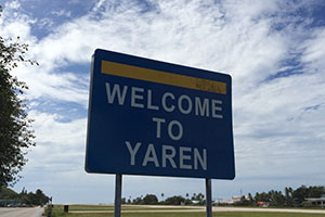 Ярен - столицата на Науро