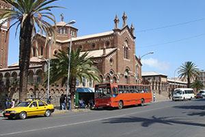 Асмара - столицата на Еритрея