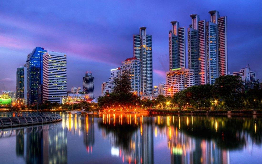 Банкок - столицата на Тайланд