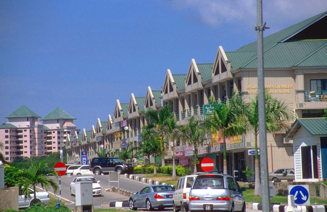 Бандар Сери Багаван - столицата на Бруней