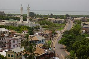 Банджул - столицата на Гамбия