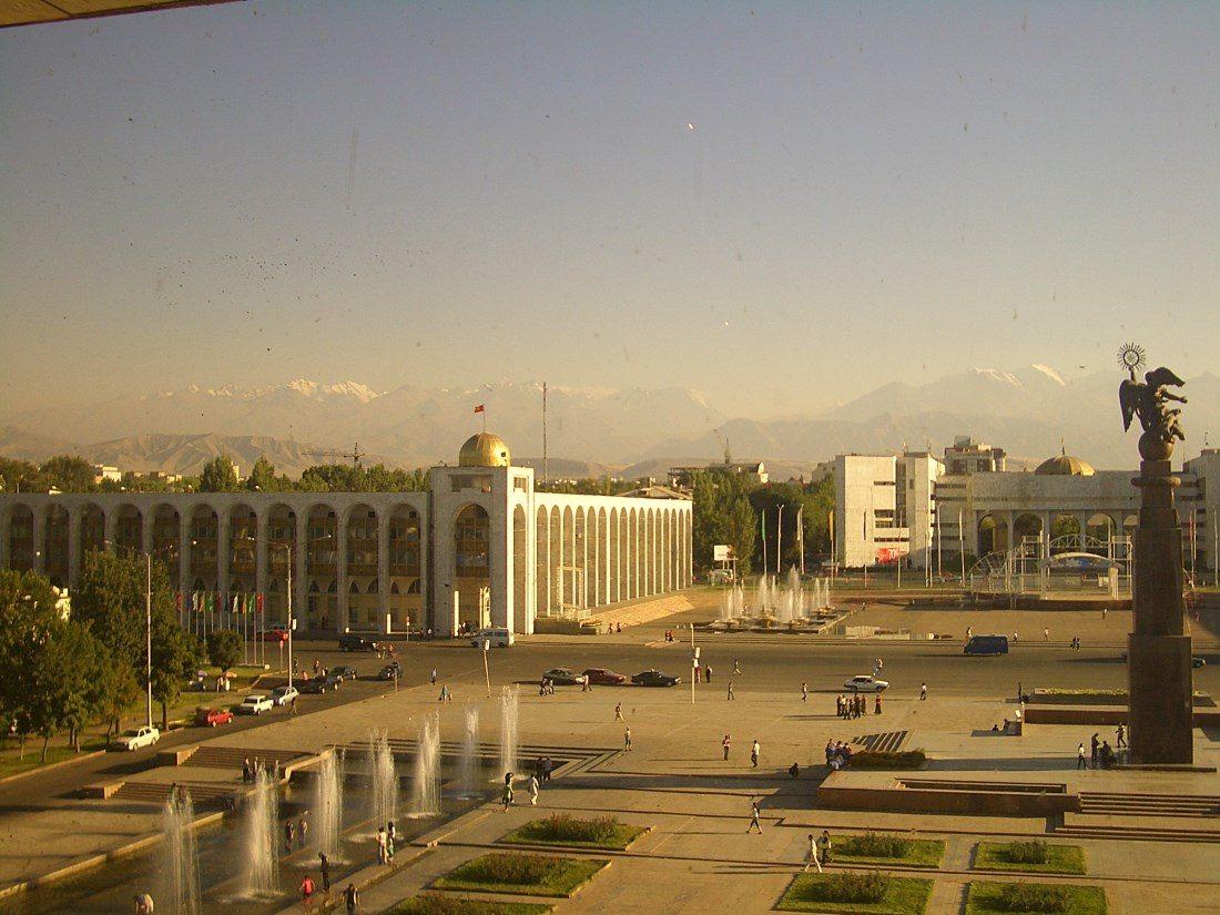 Бишкек - столицата на Киргизстан