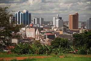 Кампала - столицата на Уганда