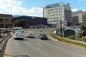 Мбабане - столицата на Свазиленд