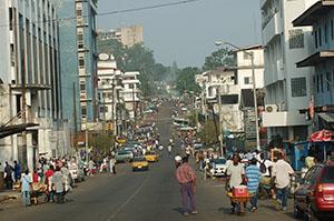 Монровия - столицата на Либерия
