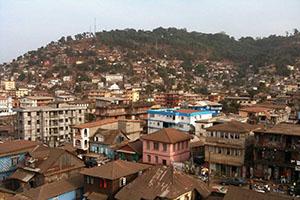 Фрийтаун - столицата на Сиера Леоне