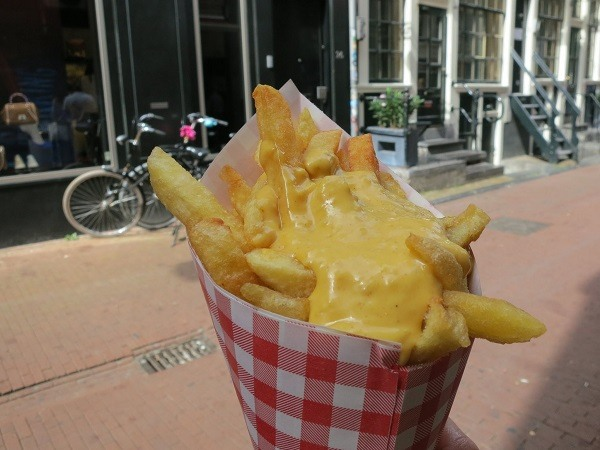 Poffertjes картофки в Амстердам