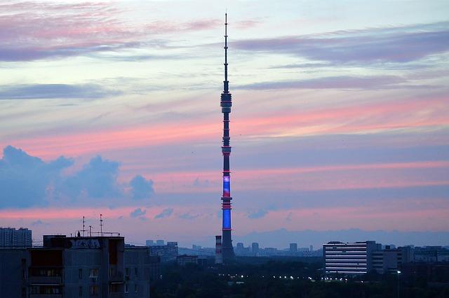 Телевизионната кула Останкино