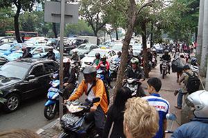 Задръствания в Джакарта