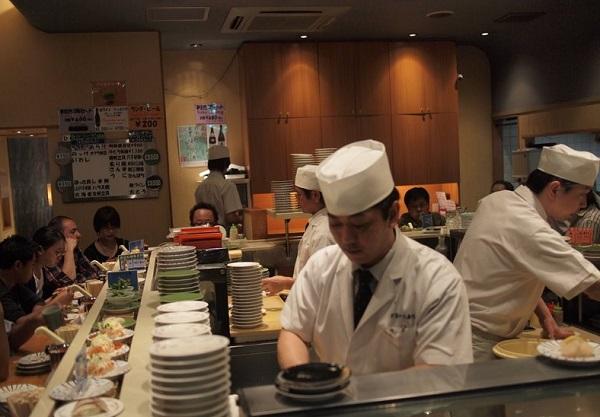 Храна в Токио