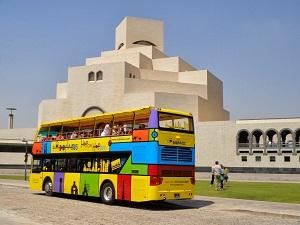 Доха разходка с Автобус