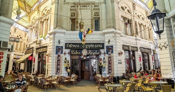 Старият град в Букурещ