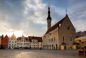 площада на кметството Талин