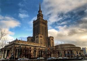 Дворецът на културата Варшава