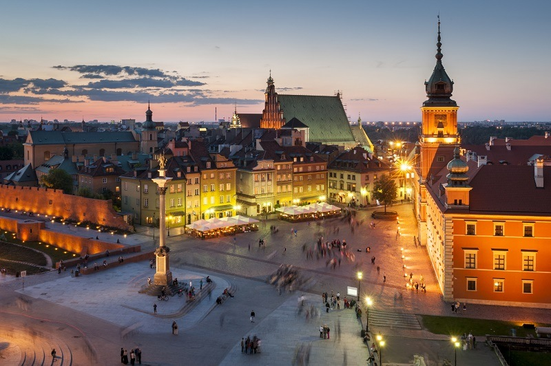Старият град във Варшава